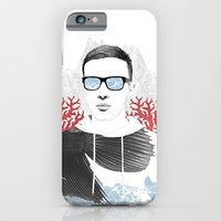iPhone & iPod Case featuring The depth of him by Vihor