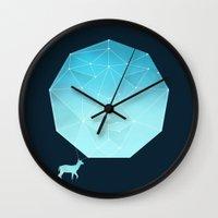 Deer God Wall Clock