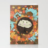 Luv Song (Hedgehog) Stationery Cards