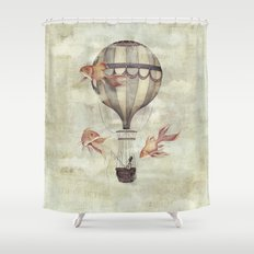 Skyfisher Shower Curtain