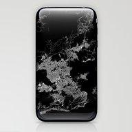 Rio Map Brazil iPhone & iPod Skin