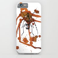 iPhone & iPod Case featuring Insect in Ink 01 by Shizen.ae