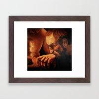 Incredulity Of Thomas Framed Art Print