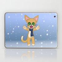 Happy Cat Winter Style Laptop & iPad Skin