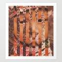 snoleoparden Art Print