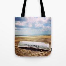 Ventnor Beach Tote Bag
