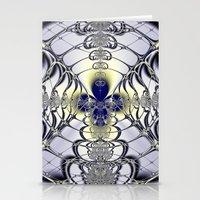 Purple Window Stationery Cards