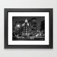 The Streets of San Fransisco  Framed Art Print