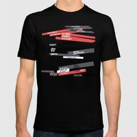 art 2 Mens Fitted Tee Black SMALL