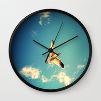 Soaring Wall Clock