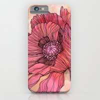 iPhone & iPod Case featuring Poppy by Annike