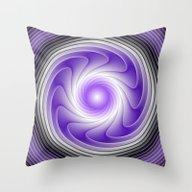 The Power Of Purple Digi… Throw Pillow