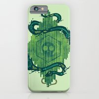 Green is the Color of Death iPhone 6 Slim Case