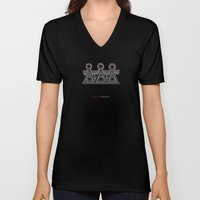 Hungarian Embroidery no.1 Unisex V-Neck