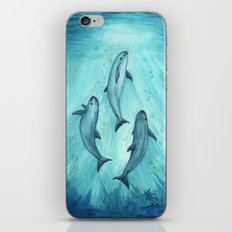 Song of the Vaquita  iPhone & iPod Skin