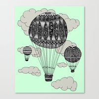 Hot Air Ballooning Canvas Print