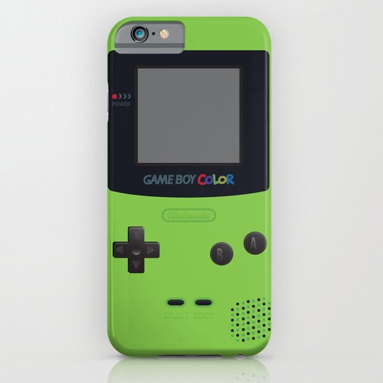 GAMEBOY Color - Green iPhone & iPod Case