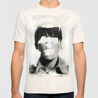Faceless   number 02 Mens Fitted Tee Natural SMALL