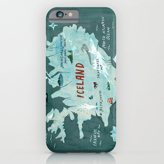 Iceland iPhone & iPod Case