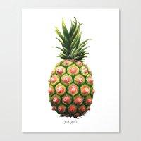 Pinipple Canvas Print