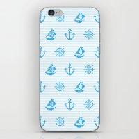 Sea Knitting #2 iPhone & iPod Skin