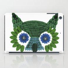 So Many Leaves = 1 Owl (Green) iPad Case