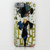 iPhone & iPod Case featuring shopping queen by Marie Elke Gebhardt