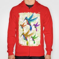 Hummingbirds Multicolors… Hoody