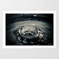 Splash!!! Art Print