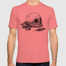Life Once Lived Mens Fitted Tee Pomegranate SMALL