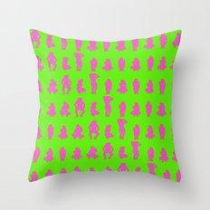 Dip & Come Up - Lime Juice Throw Pillow