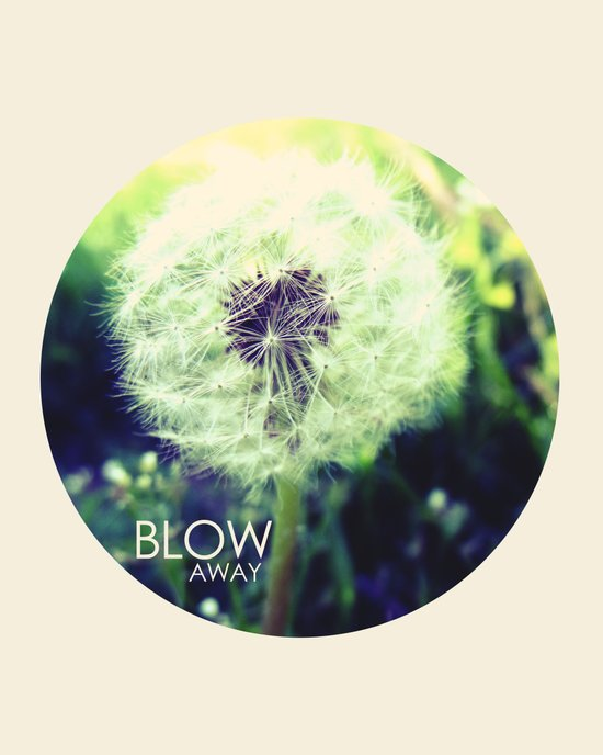 blow away Art Print