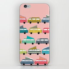 geo campers pink iPhone & iPod Skin