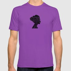 silhouette - scattered dreams Mens Fitted Tee Ultraviolet SMALL