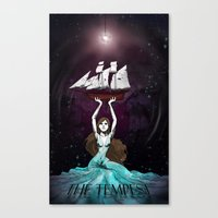 The Daughter Of Prospero Canvas Print