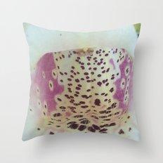 Foxglove 2 Throw Pillow
