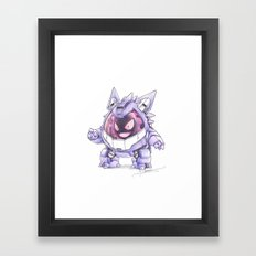 GB-EV0 Mobile Suit Framed Art Print