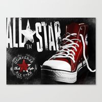 Chucks Poster #2 Canvas Print