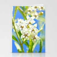Bright Blossom Sky Stationery Cards
