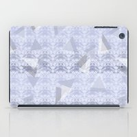 Floral Lace Collection - Blue iPad Case