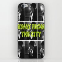 AWAY FROM THE CITY iPhone & iPod Skin