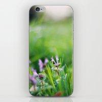 Tiny Wildflower II iPhone & iPod Skin