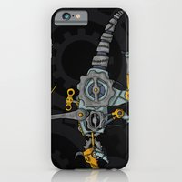 iPhone & iPod Case featuring Clockwork Dragon by Thomas Gomes