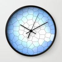 IRREGULAR LIGHT BLUE Wall Clock