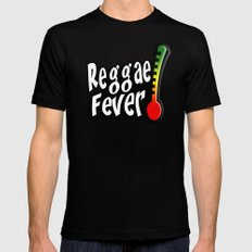 Reggae Fever Mens Fitted Tee Black SMALL