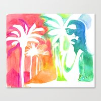 An injection of summer Canvas Print