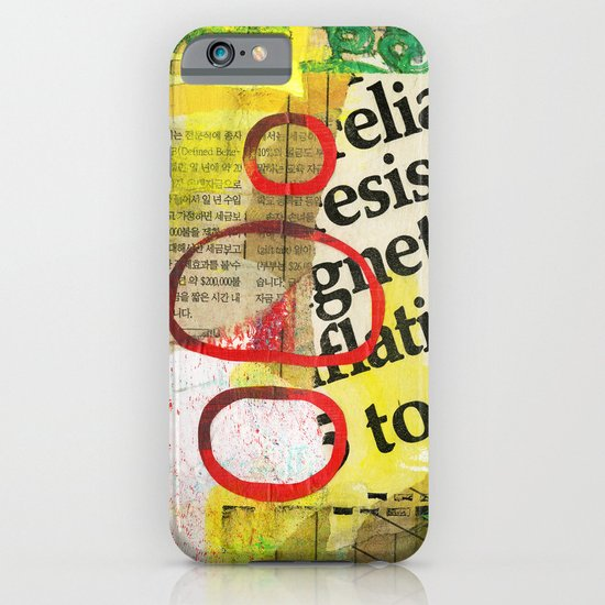 Collage 2 iPhone & iPod Case