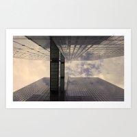 Upwards #3 Art Print