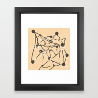 The Unknown Influence Framed Art Print