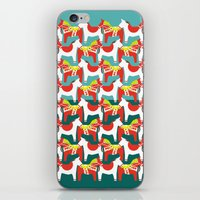 Dalahäst & Japanese horse iPhone & iPod Skin